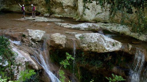 Агурские водопады и скала Прометея 10