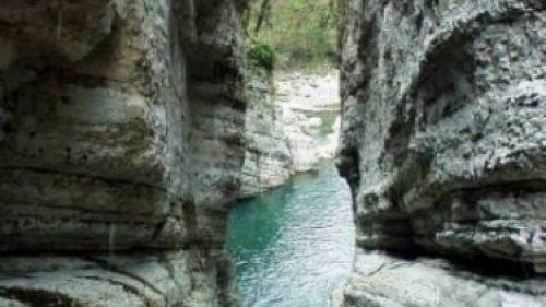 Агурские водопады и скала Прометея 3