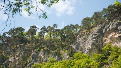 Агурские водопады и скала Прометея 7