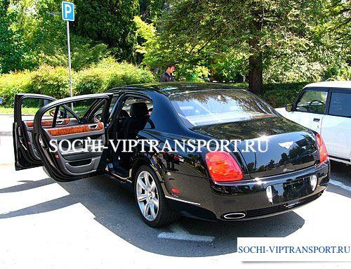Bentley Continental Flying