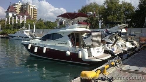Моторная яхта Лагуна